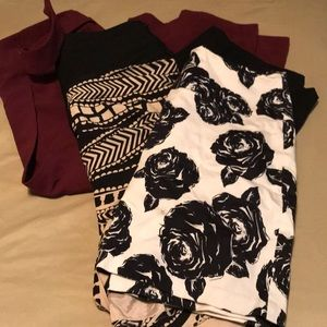 Lot of 4 Women's Skirts